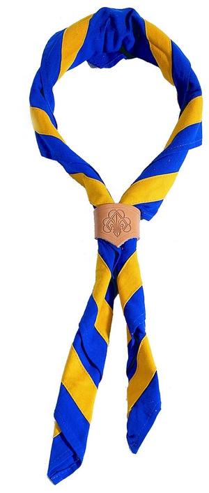 Halstuch (blaugelb)